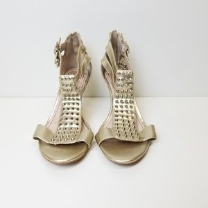 Vince Camuto Gold High Heel